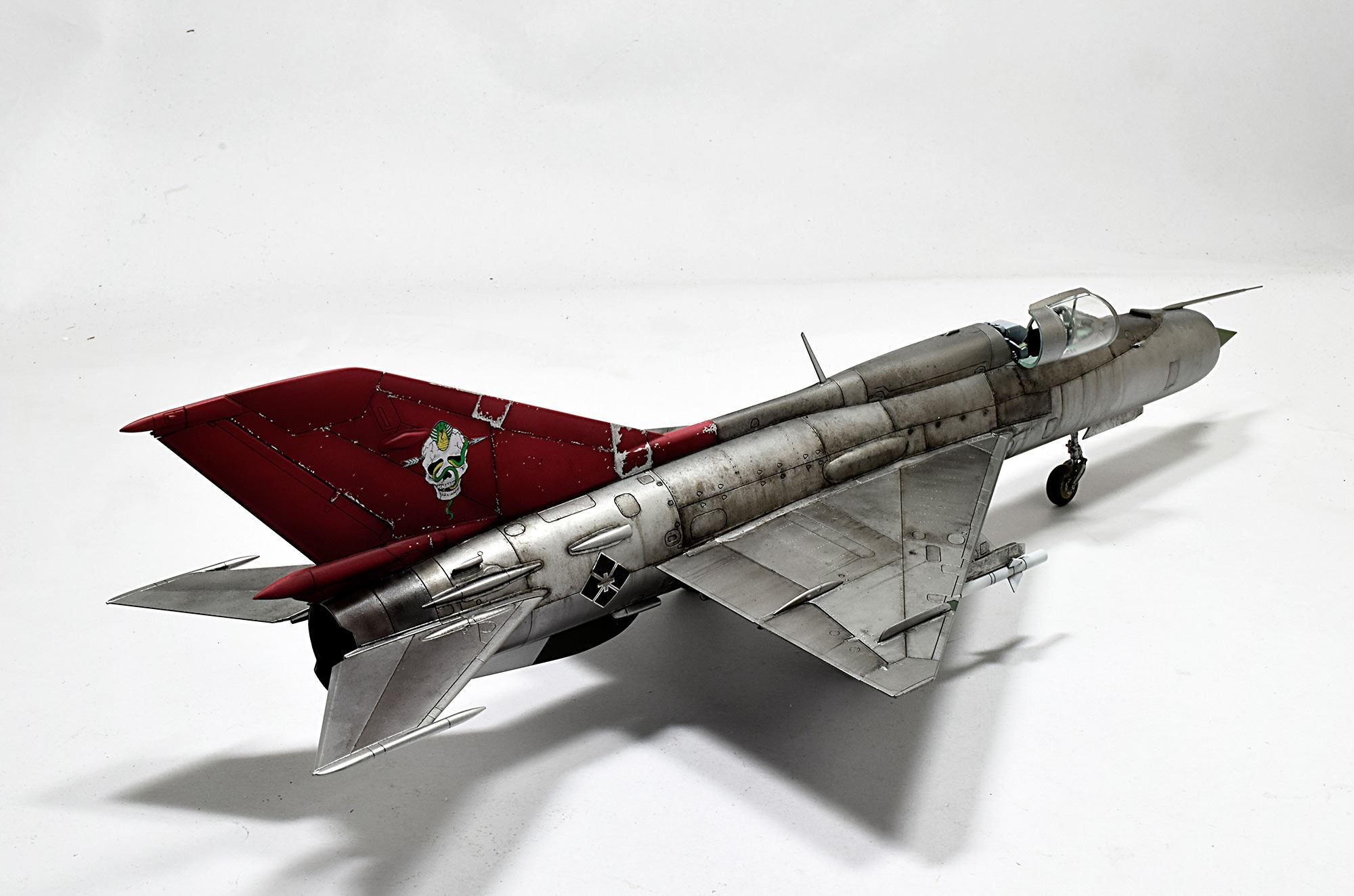 "MIG-21 ""Area88"" BY https://www.facebook.com/groups/337655026327165/ THAI MO GROUP"