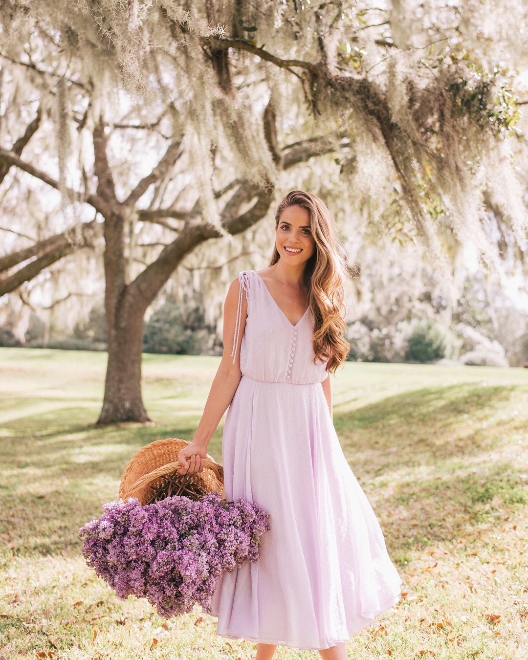 My Favorite Lilac Dress - Simply Sutter