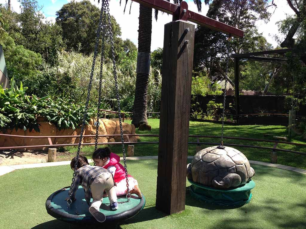 At Melbourne Zoo, you can meet over 300 different species ...