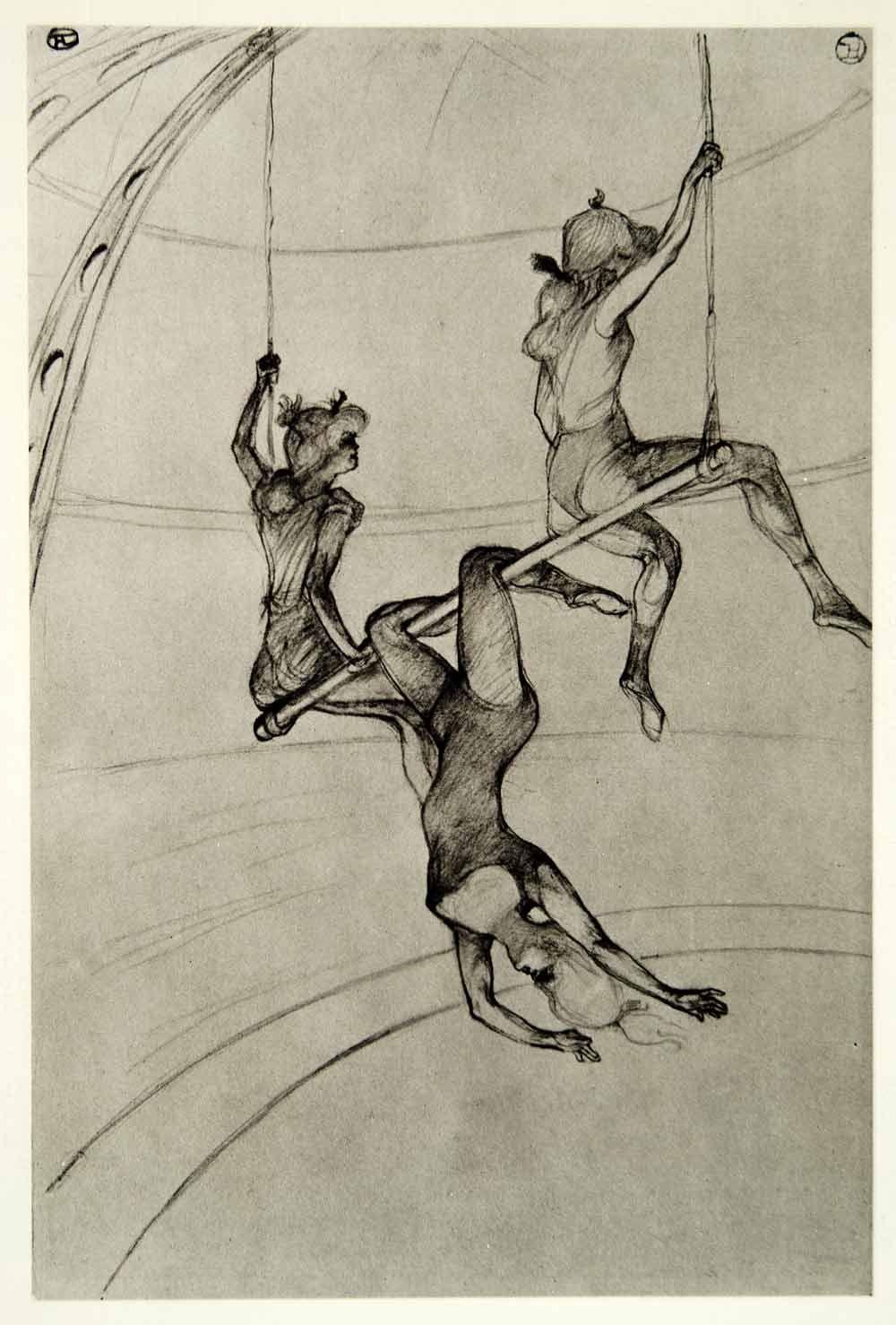 Movie Poster for film TRAPECIO.Trapeze.Circus.Home Room art decor design