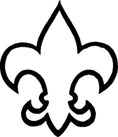 Fleur De Lis Outline 31 Cub Scout Fleur De Lis Free Cliparts