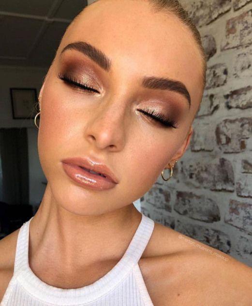 ? insta and pinterest Amy McKeown ? #weddingmakeup #wedding #makeup #bronze – Best Wedding Beauty