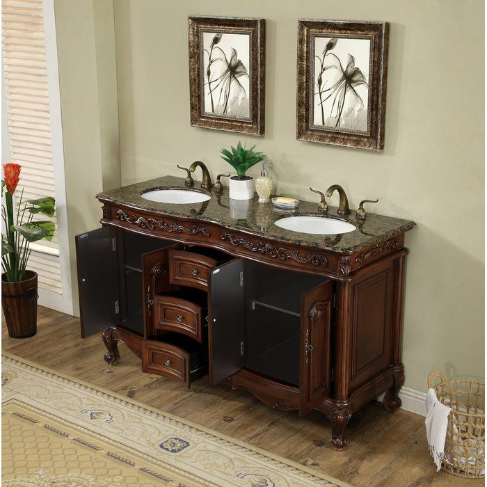 Gilliam 60 Double Bathroom Vanity Set Beautiful Bathroom Vanity Small Bathroom Vanities Bathroom Vanity Designs