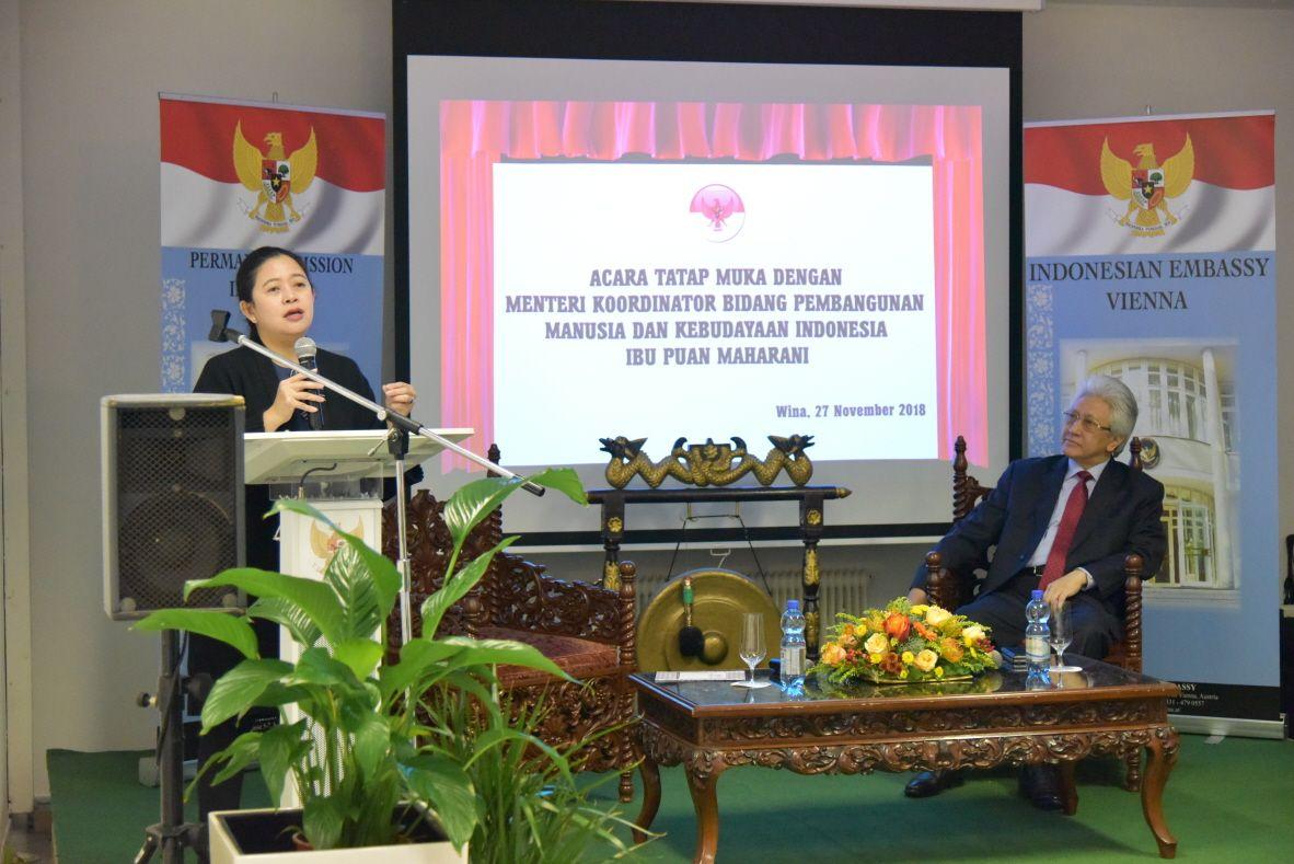 27 11 2018 Menteri Koordinator Bidang Pembangunan Manusia Dan