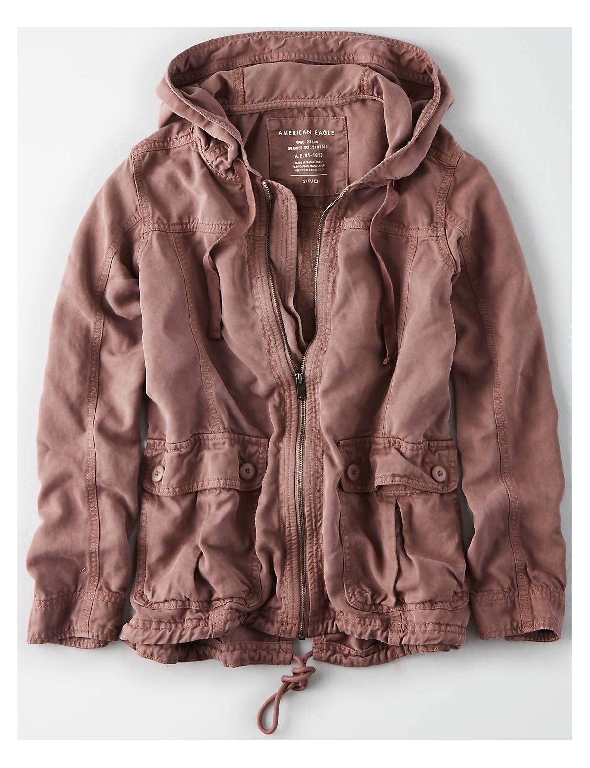 ac52aa22 AE Hooded Parka, Black | American Eagle Outfitters | Outfit ideas ...
