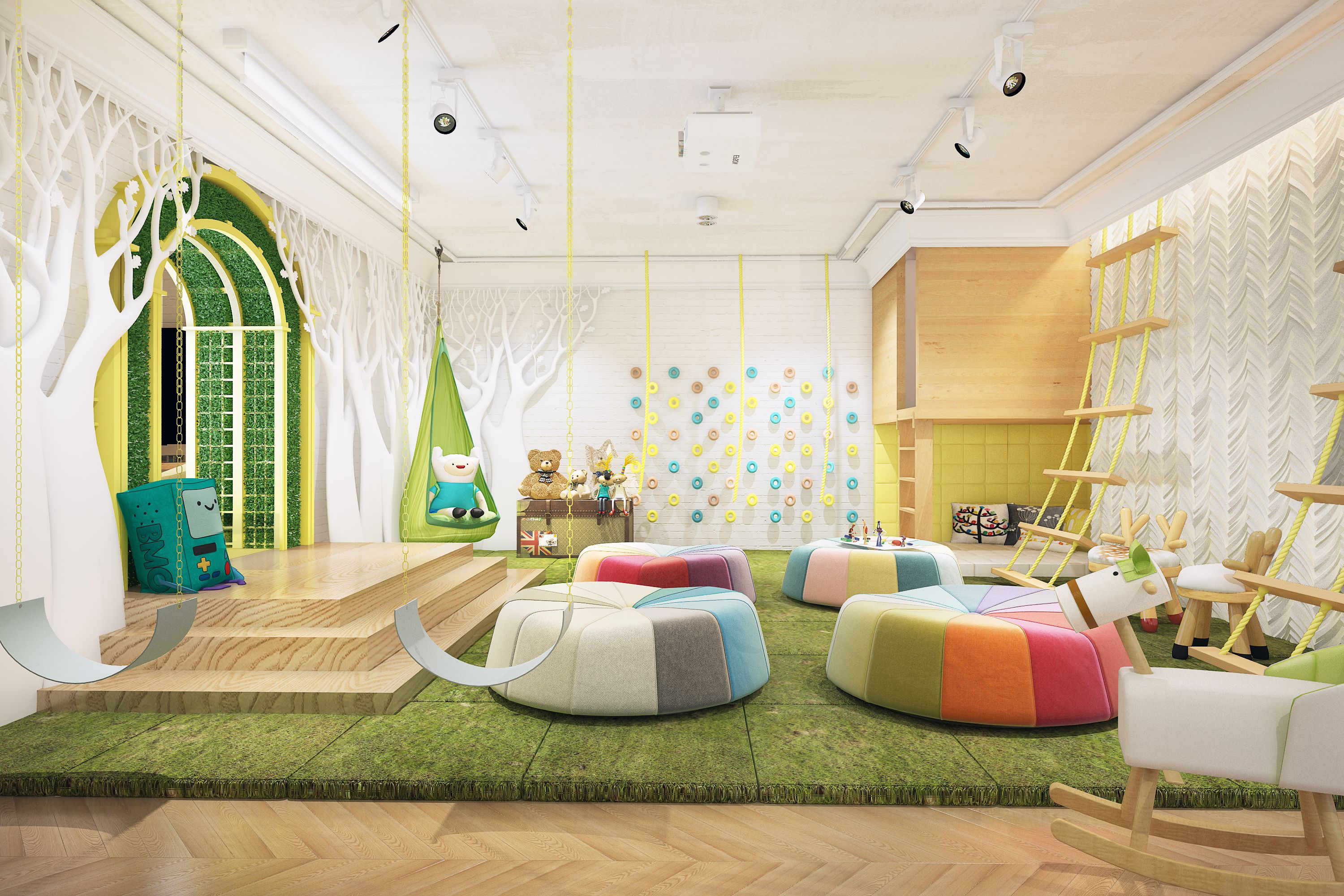 Family Cafe With Co Working And Kids Club JB Design