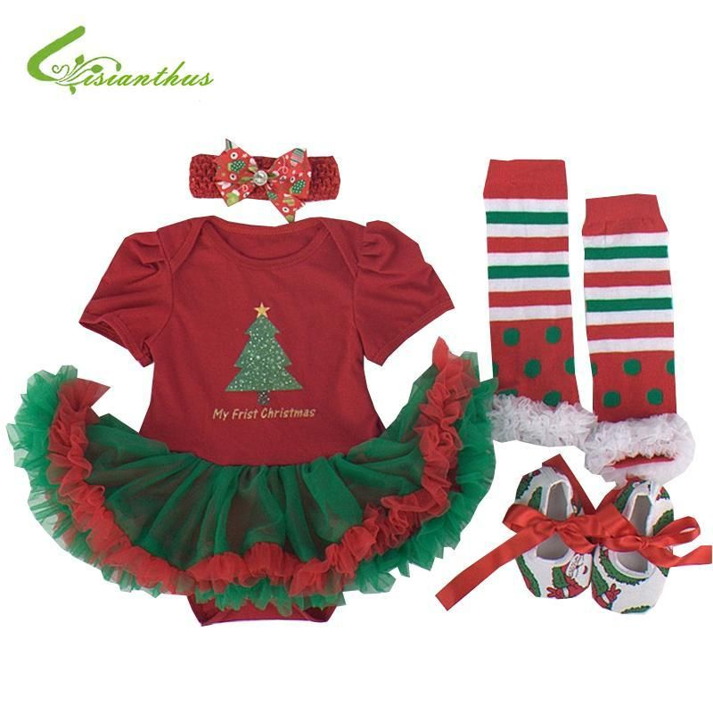 12daa1977e9 This 4-piece set puts your elf right on Santa s Nice List! Includes  one-piece tutu and romper combination
