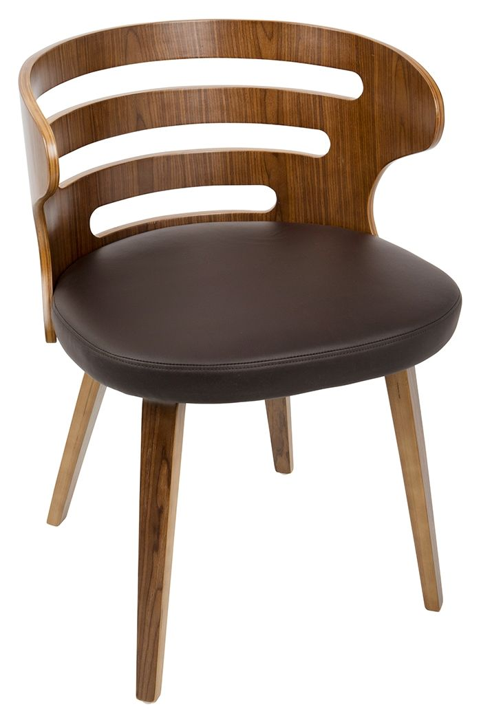 Cosi Dining Chair Brown In 2020 Mid Century Modern