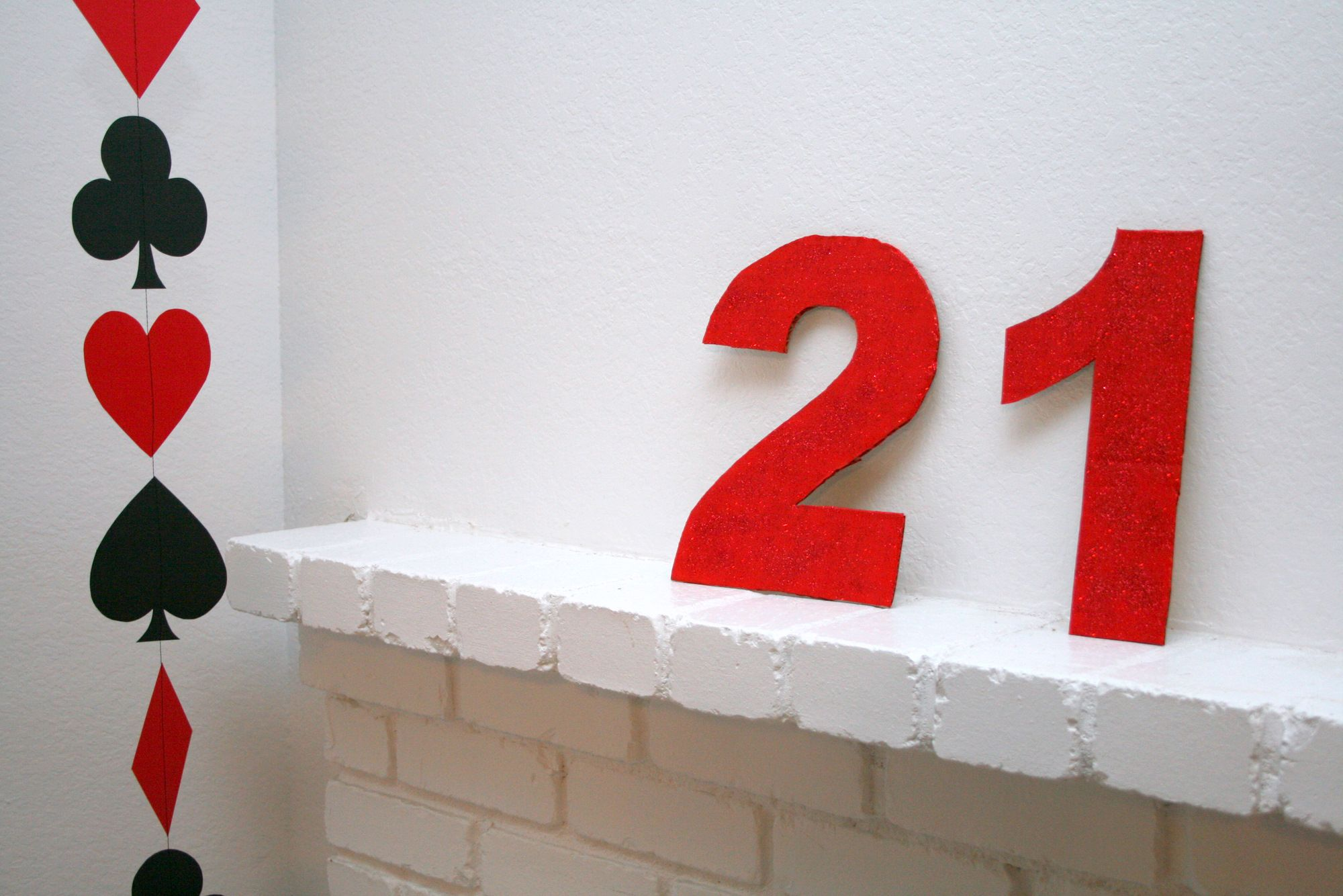 DIY Casino Night at Home for Twenty-First Birthday | Parties ...