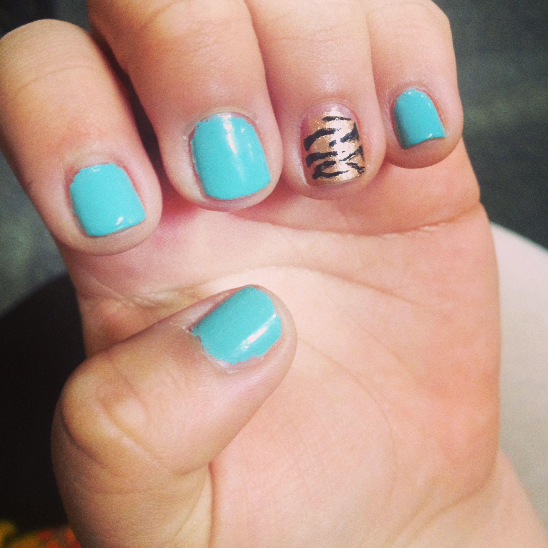 Nails, nail design, cheeta, nail color, spring nails 2013   My Style ...
