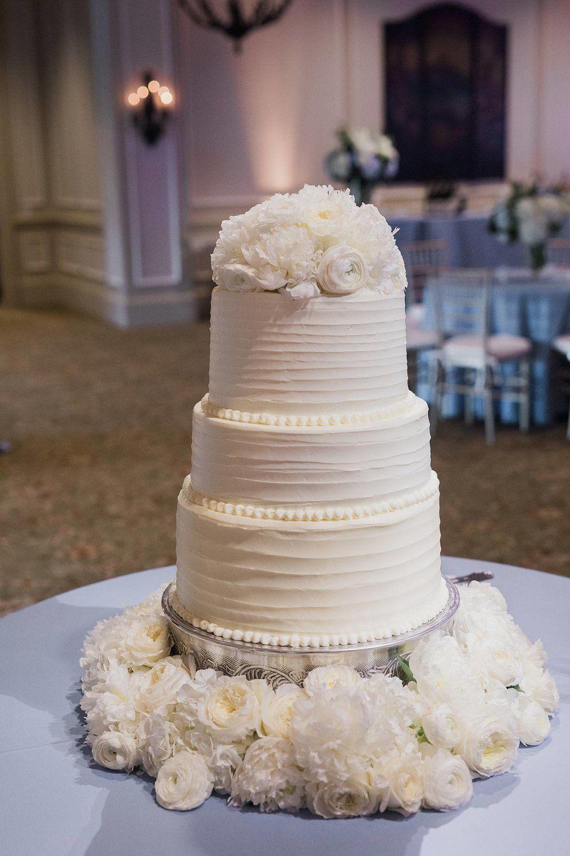 All White Wedding Cake Event Design Coordination Greg Boulus