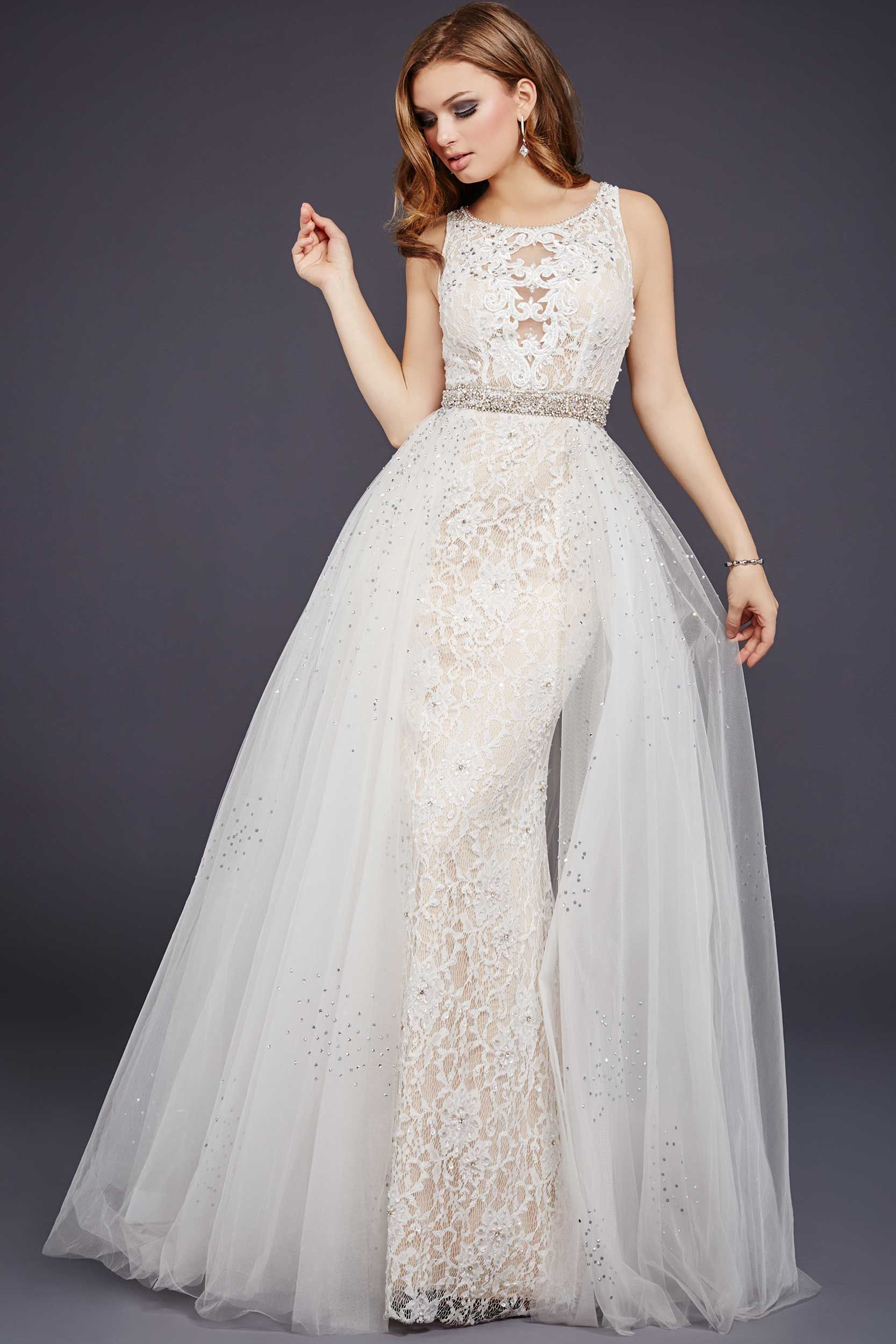 Baile toda la noche en este vestido de fiesta de lujo de encaje ...