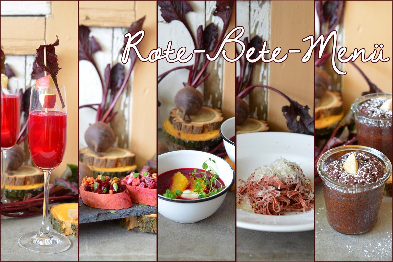 Rote-Beete-Menü