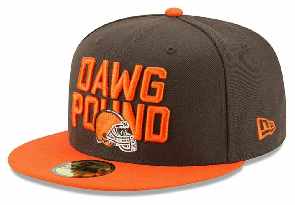 be3ba7423 New Era Cleveland Browns 59Fifty NFL Dawg Pound 2018 Draft Fitted ...