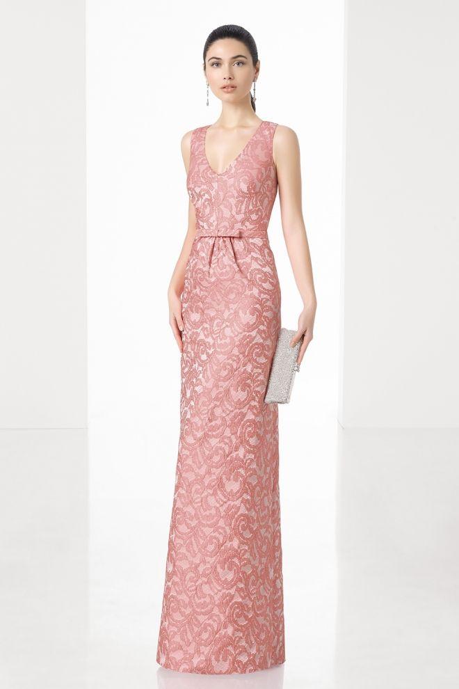 Clásico vestido de boda para la madre de la novia - 10 vestidos de ...