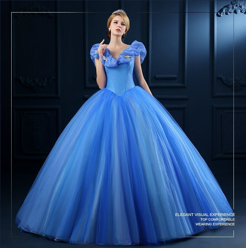 d115412ef Tienda Online Vestidos de 15 anos 2015 Nueva Moda Barato Cenicienta Azul  Vestidos de Quinceañera dulce 16 vestidos de Bola vestidos de quinceañera  ...