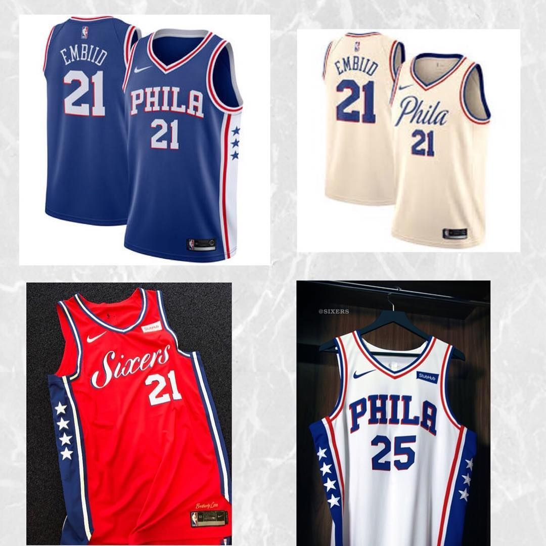 Which current Sixers jersey do you think is the best  Mines definitely the  city- a4b2915f5