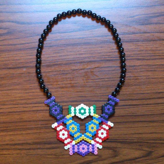 Hama Bead Sweet Candy Necklace By Jellymodemagic Hama
