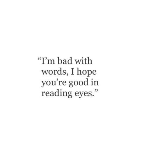 good at reading eyes shared by Smiles:) on We Heart It