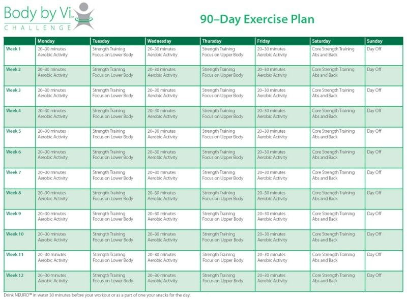 personal exercise plan - Google Search Physical Fitness - workout program sheet