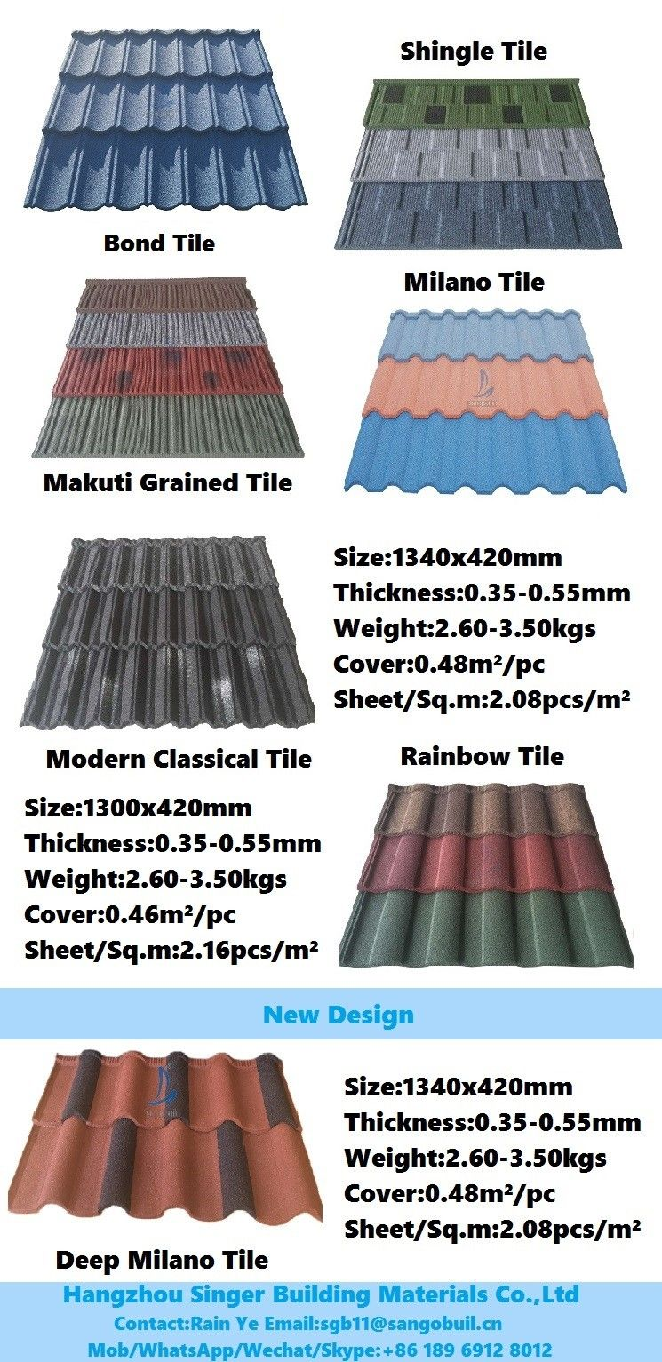 Pin By Decor Holding Group Co Ltd On Stone Coated Metal Roofing Tile Metal Roof Rainbow Tile Concrete Roof Tiles