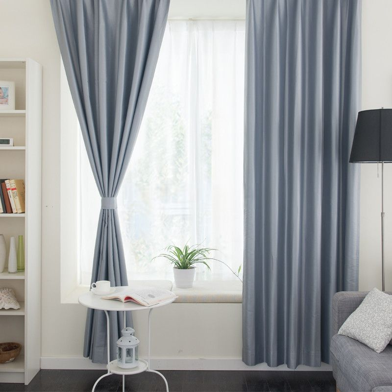 20+ Hottest Curtain Designs for 2019 | Simple living room ...