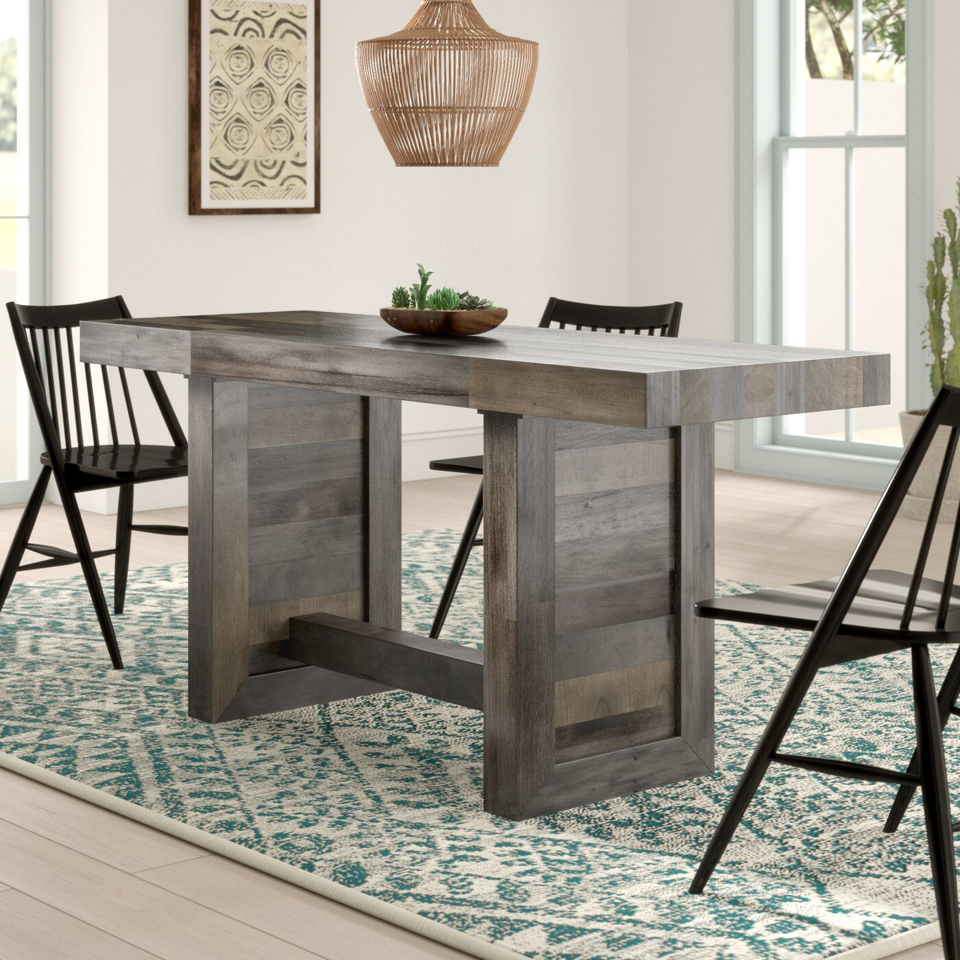 Mistana Massey Solid Wood Dining Chair Reviews Wayfair Dining Table Solid Wood Dining Chairs Counter Height Dinner Table
