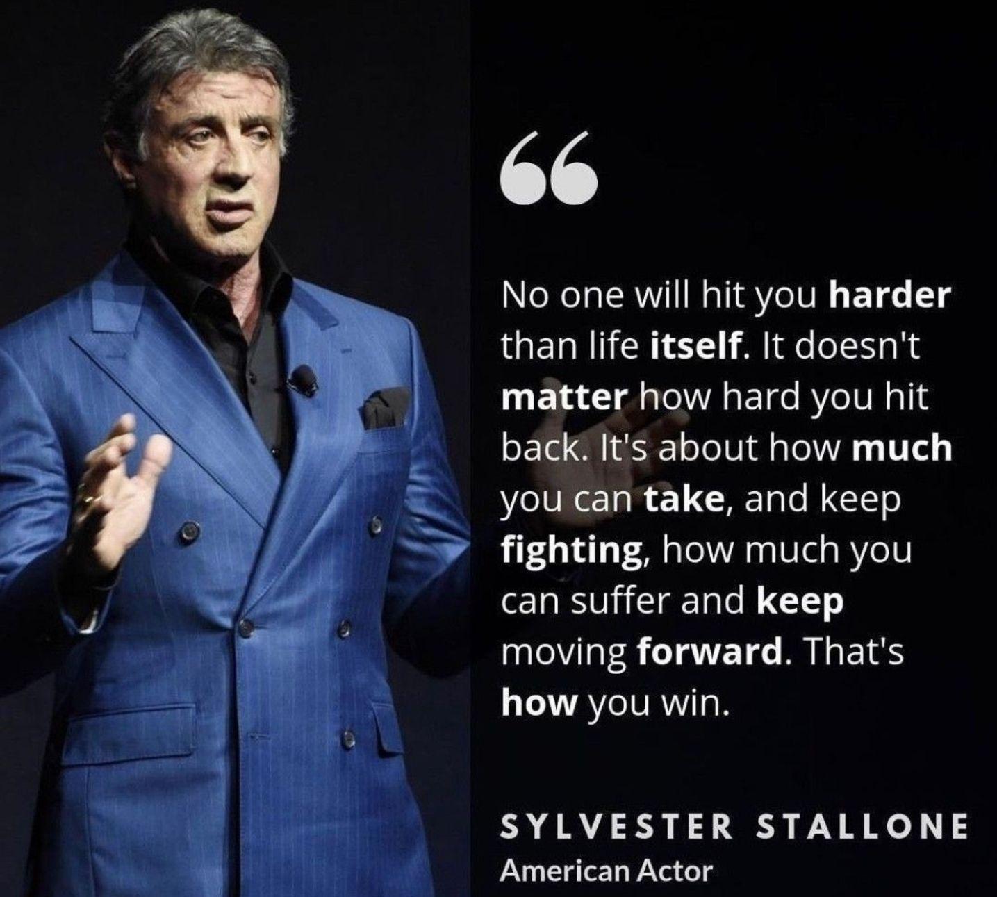 Keep moving forward.  - ALFASTALLION®