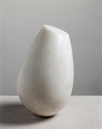 Constantin Brancusi, Torso of a young girl, 1925, Onyx, National Museum of Modern Art - Georges Pompidou Center, Paris