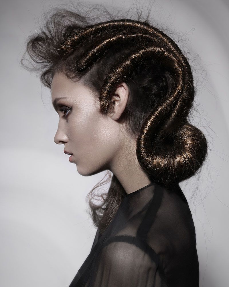 Artistic hairstyle peluquería pinterest updo inspiration and