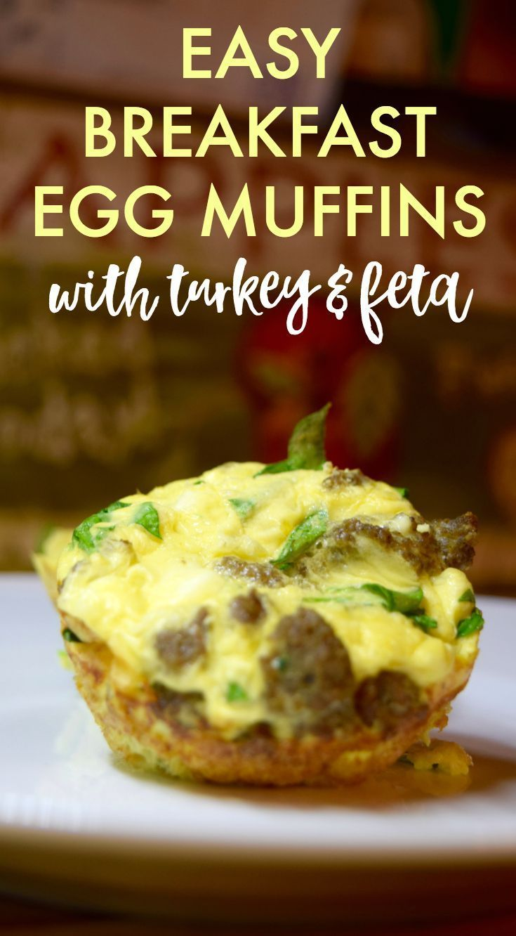 Healthy Breakfast Egg Muffin Cups with Turkey Sausage - Ironwild Fitness - #breakfast #fitness #heal...