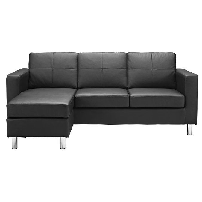 Best Lutz Reversible Chaise Sectional Sectional Sofa Small 400 x 300