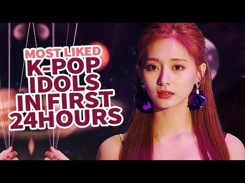 Top 30 Most Liked K Pop Idol Mvs In First 24 Hours Youtube Pop Idol Kpop Kpop Idol