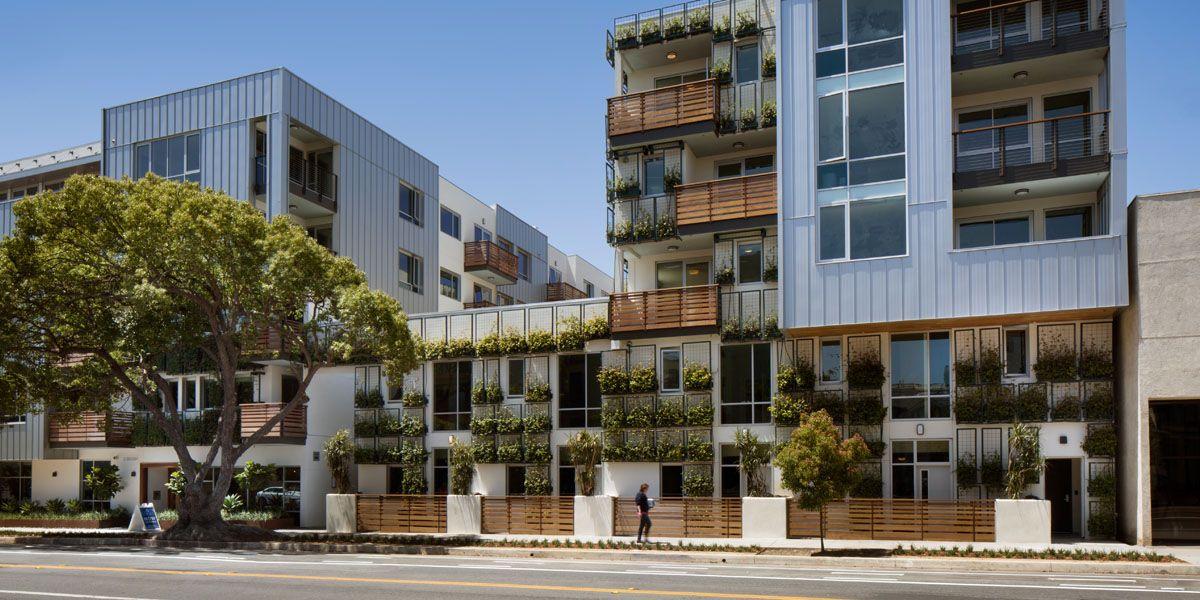 Sway Santa Monica Apartment Architecture Santa Monica Luxury Apartments