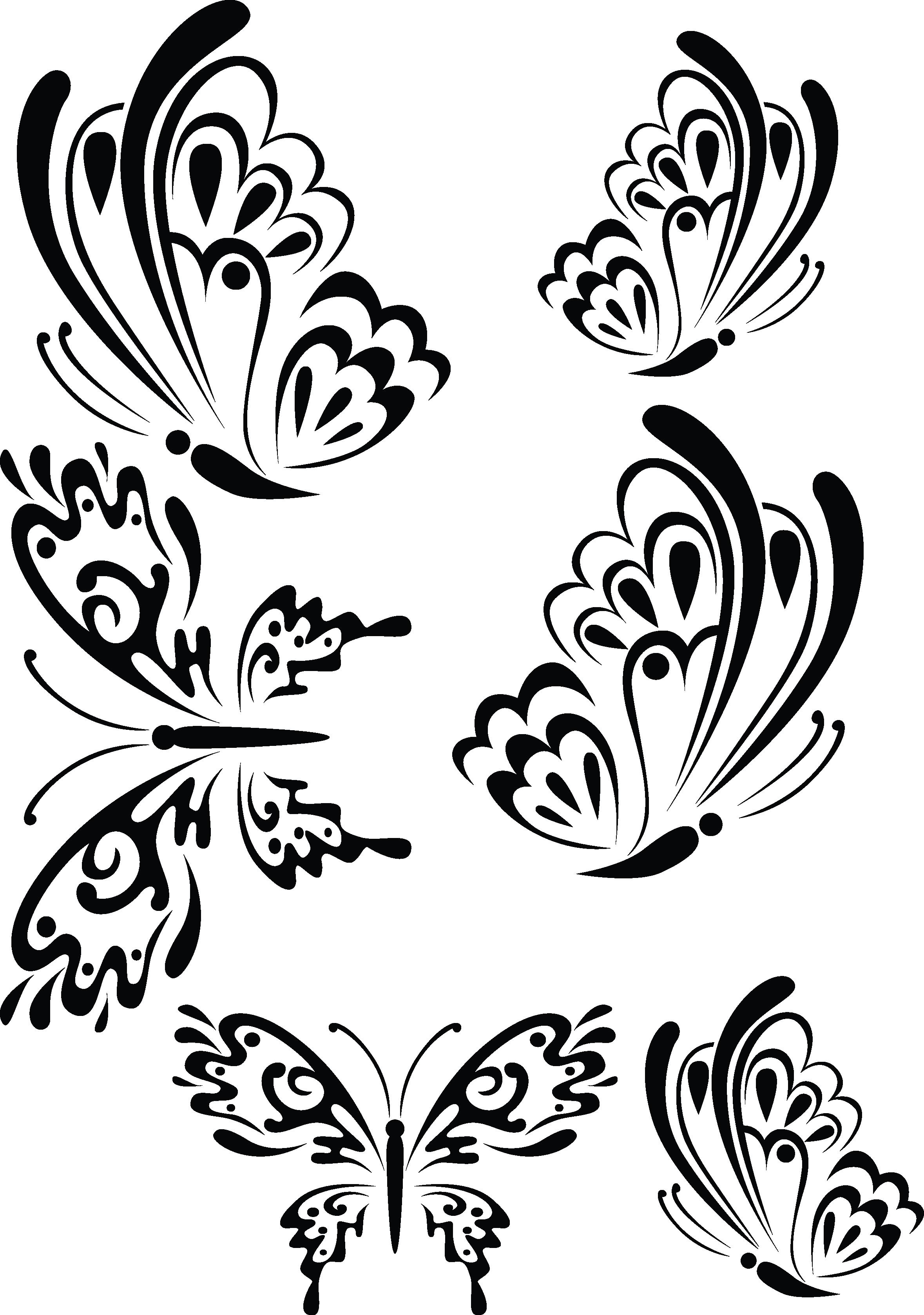 Butterflies2 | quilling | Pinterest | Mariposas, Dibujo y Siluetas