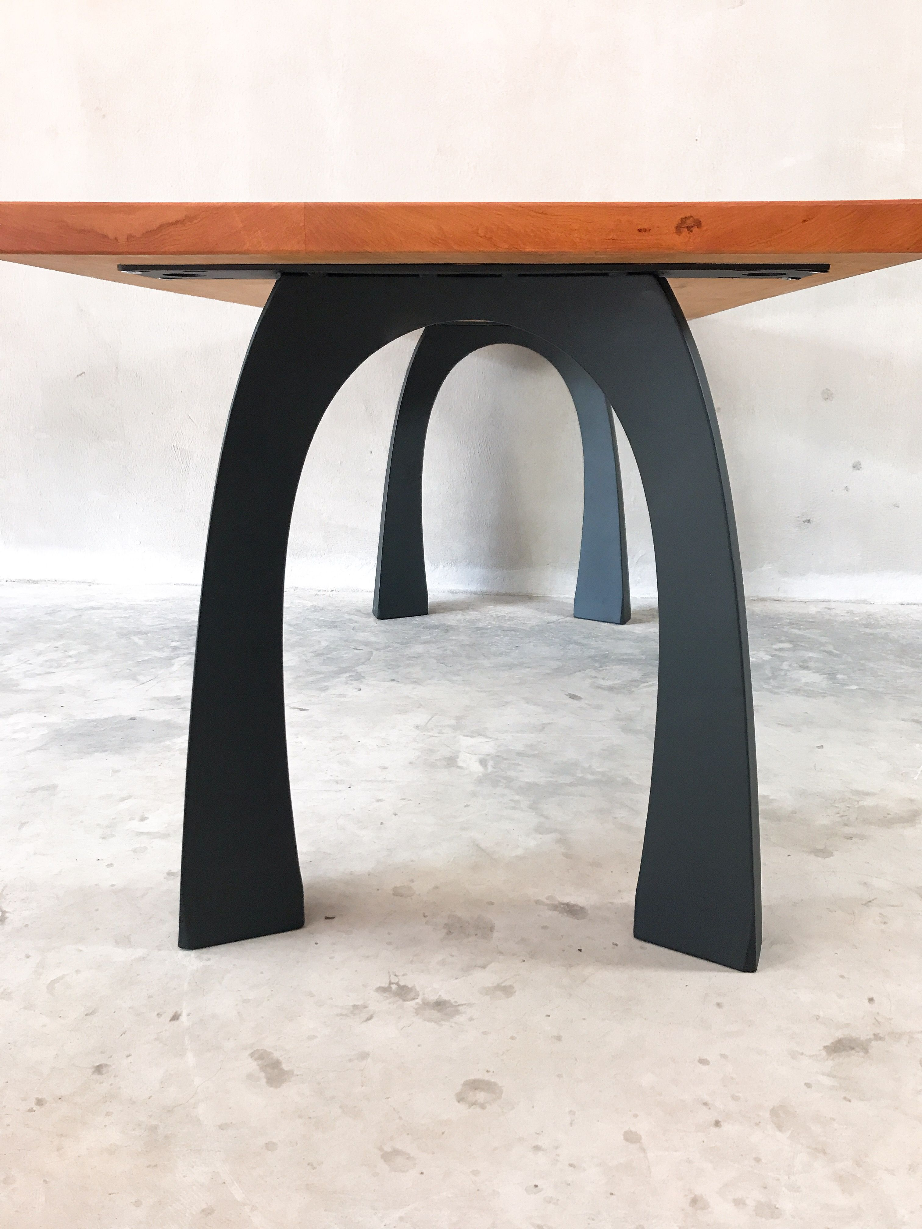 Outstanding Table Metal Legs Base For Dinning Table Live Edge Table Beutiful Home Inspiration Aditmahrainfo