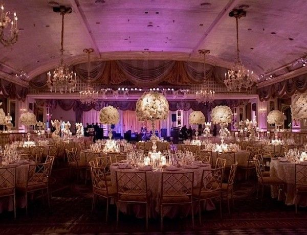 Reception decor new york wedding 33 08102015 ky purple passion breathtaking new york wedding with ballroom glamour decor modwedding junglespirit Gallery