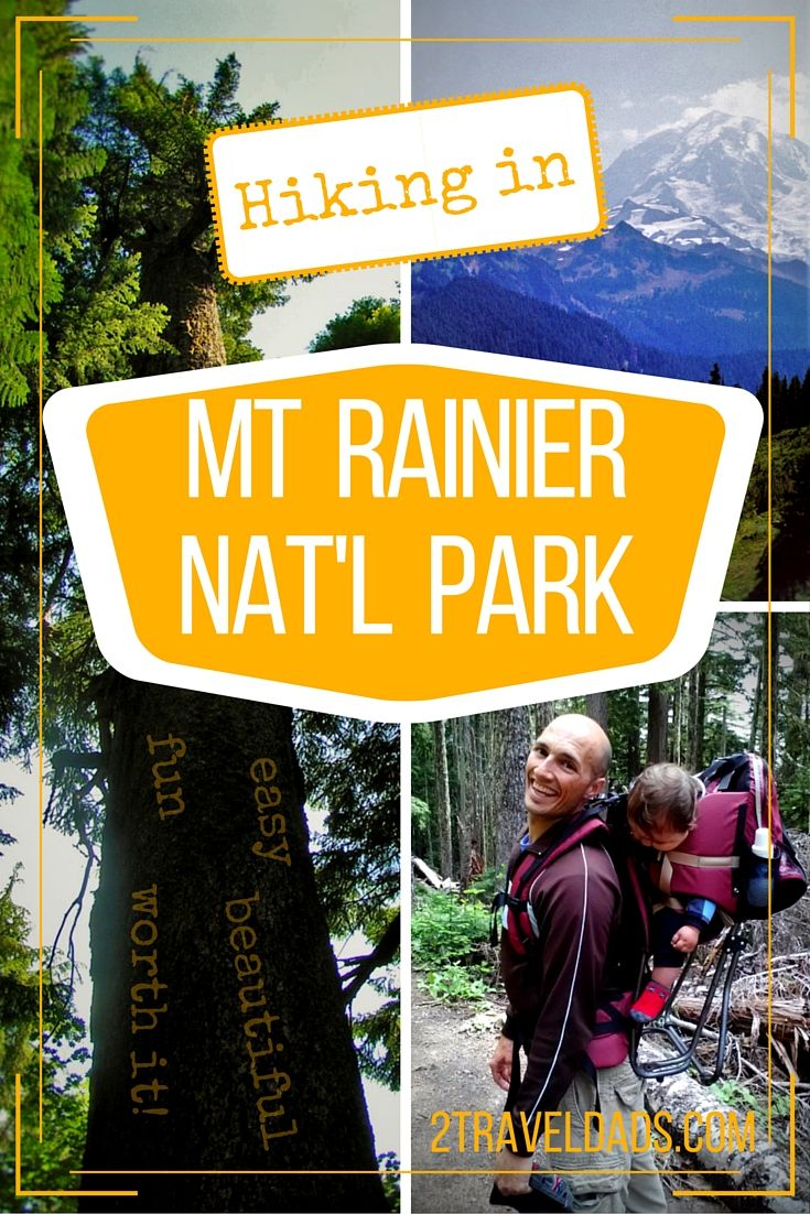 Hiking In Mt Rainier National Park Easy And Worth It