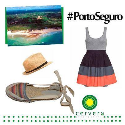 Dica de look com alpargata Cervera para aproveitar Porto Seguro com conforto e estilo!