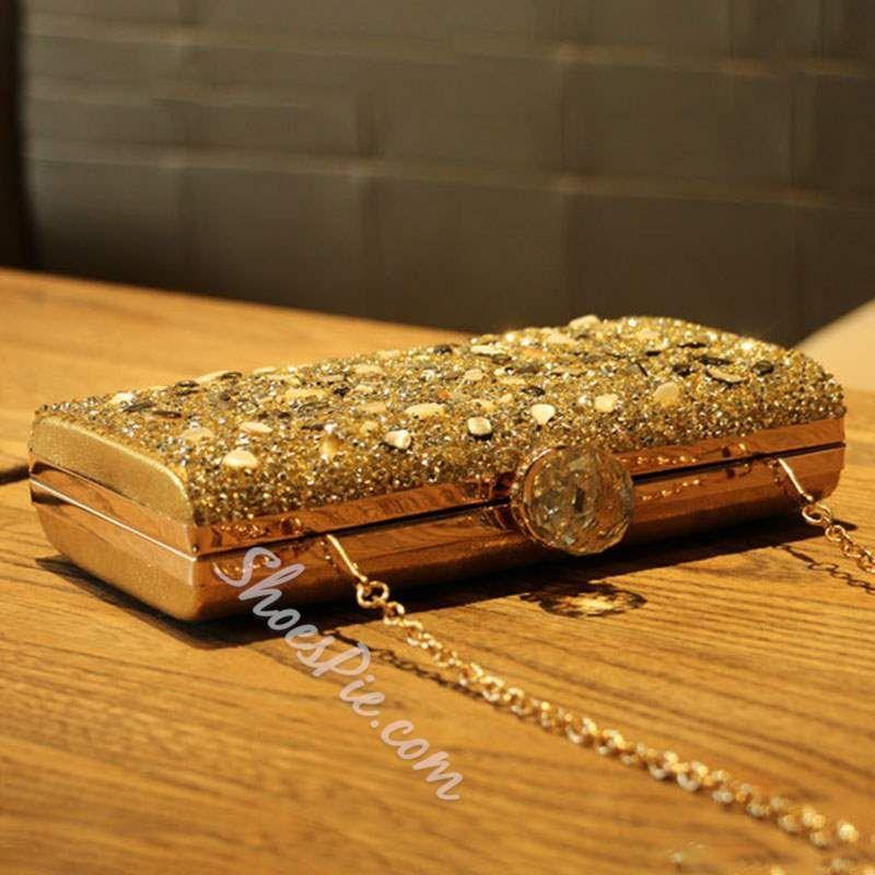 Shoespie Rectangle Banquet Clutches & Evening Bags