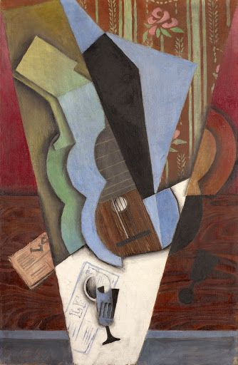 Abstraction (Guitar and Glass) Juan Gris (Spanish, 1887–1927) July 1913