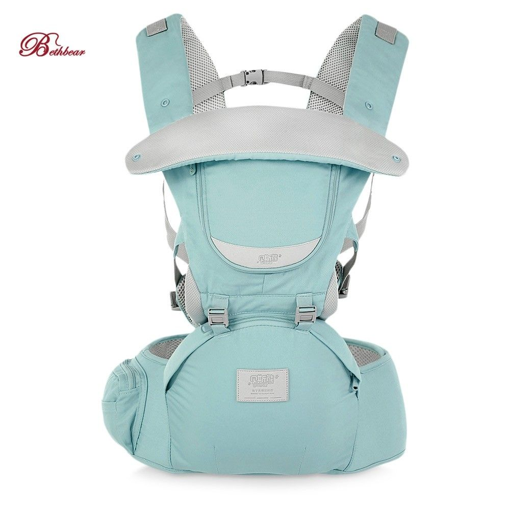 Bethbear 3 In1 Newborn Hip Seat Waist Stool Baby Carrier Infant Sling Backpack