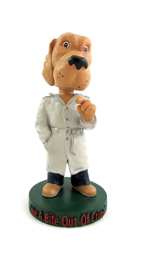 mcgruff the crime dog take a bite out of crime bobblehead nodder