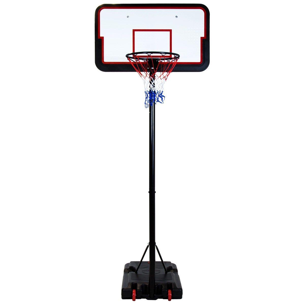 Free Standing Basketball Net Hoop Kids Backboard Adjustable Stand Set Xmas Gifts