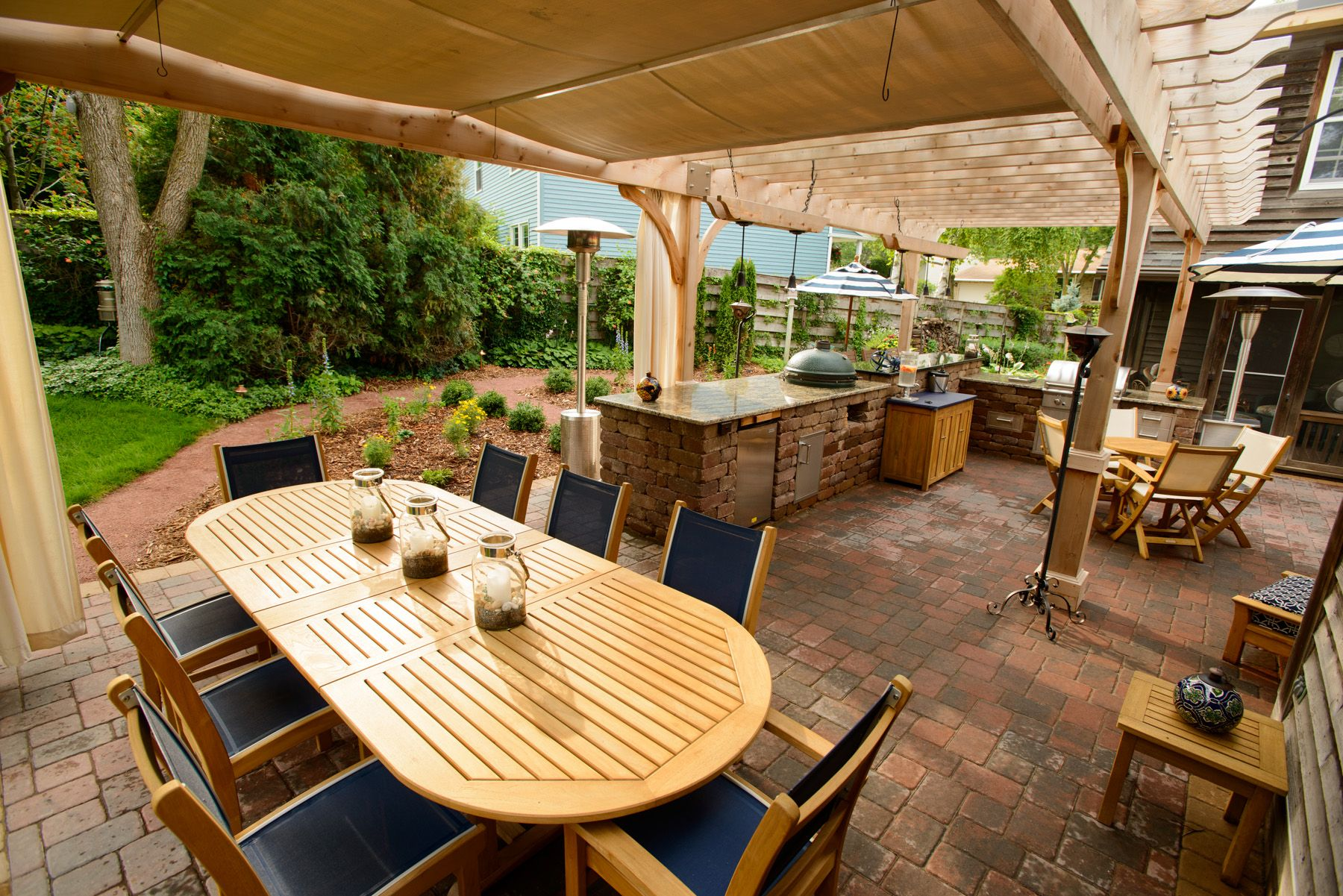 Outdoor Living. Outdoor Dining, Outdoor Kitchen, Wood ... on Living Spaces Outdoor Dining id=88333