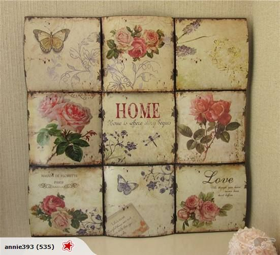 French Shabby Chic Wall Art Romantique Trade Me
