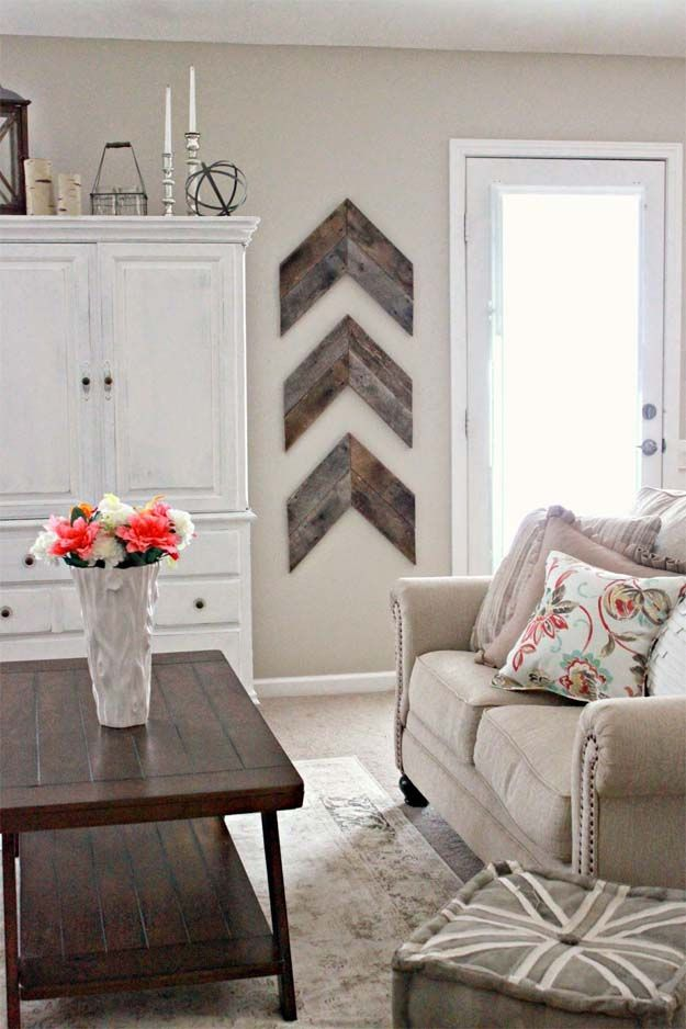 13 Rustic Home Decor Ideas Wooden arrows, Arrow and Living rooms