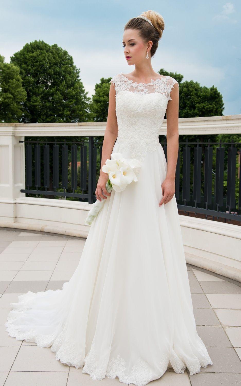 Summer Wedding Dresses 788904059709050615 Bryllupskjole Dresses Summer Modest Wedding Dresses Wedding Dresses Bridal Dresses [ 1500 x 937 Pixel ]