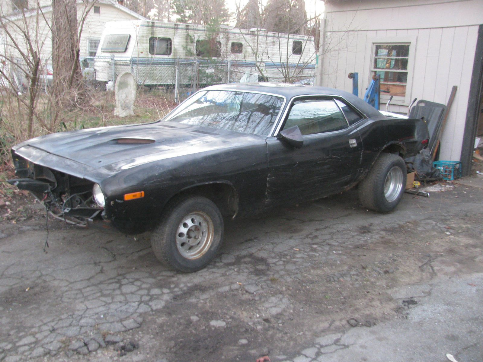 1973 Plymouth Barracuda project Maintenance/restoration of old ...