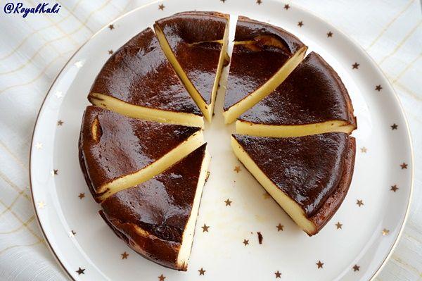 Photo of Yanık Cheesecake Tarifi (Burnt Cheesecake) – Royal Kuki